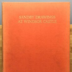Libros: THE DRAWINGS OF PAUL AND THOMAS SANDBY IN THE COLLECTION OF HIS MAJESTY THE KING AT WINDSOR CASTLE -. Lote 269255313