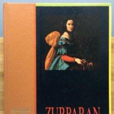 Libros: ZURBARÁN - CLARA JANÉS, SANTIAGO ALCOLEA, JESÚS MORENO. Lote 269262538