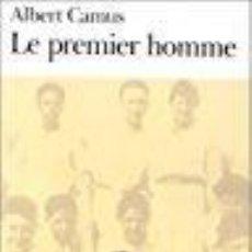Libros: LE PREMIER HOMME - ALBERT CAMUS. Lote 269305758