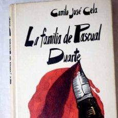 Libros: LA FAMILIA DE PASCUAL DUARTE.- CELA, CAMILO JOSÉ. Lote 269333598