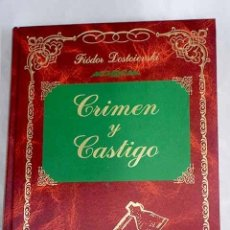 Libros: CRIMEN Y CASTIGO.- DOSTOYEVSKI, FEDOR. Lote 269334238