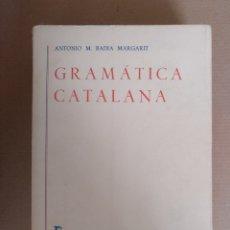 Libros: GRAMÁTICA CATALANA TOMO II. ANTONIO M BADIA MARGARIT. BIBLIOTECA ROMÁNICA HISPÁNICA. GREDOS. LIBRO. Lote 269456483