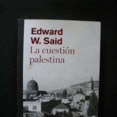 Libros: SAID, EDWARD W. - LA CUESTIÓN PALESTINA. Lote 269459508