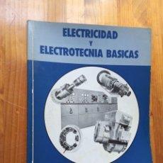 Livres: DANIEL CABRONERO MESAS - ELECTRICIDAD Y ELECTROTECNIA BÁSICAS. Lote 259631595