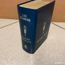 Libros: TEATRO GRIEGO. - ESQUILO. SÓFOCLES. EURÍPIDES. ARISTÓFANES. MENANDRO.. Lote 269586058