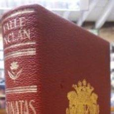 Libros: SONATAS. MEMORIAS DEL MARQUÉS DE BRADOMÍN. - VALLE-INCLÁN.. Lote 269604428