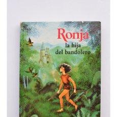 Livres: RONJA, LA HIJA DEL BANDOLERO - LINDREN, ASTRID. Lote 269780453