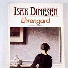Libros: EHRENGARD EDICIÓN DE JAVIER MARÍAS - DINESEN,ISAK. Lote 269784398