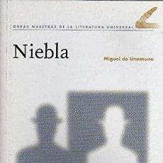 Libros: NIEBLA - UNAMUNO,MIGUEL DE. Lote 269785013