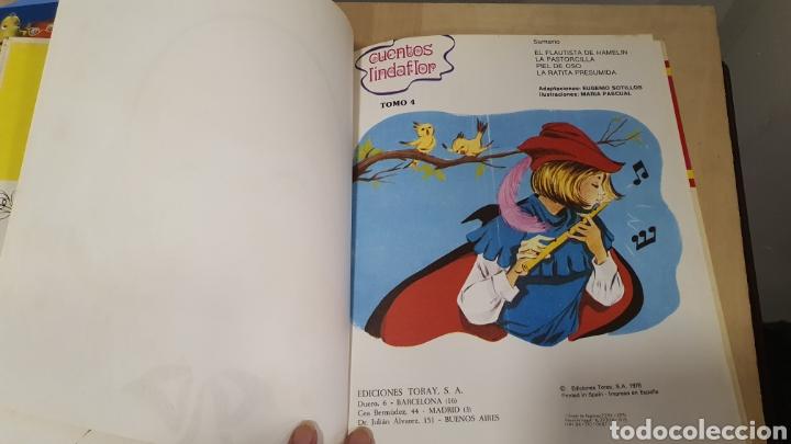 Libros: Bonito libro de cuentos(el flautista de hammelin,el pastorcillo.. - Foto 3 - 269816058