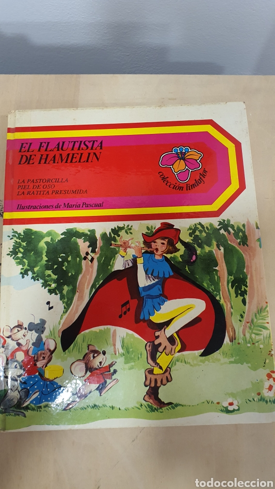 BONITO LIBRO DE CUENTOS(EL FLAUTISTA DE HAMMELIN,EL PASTORCILLO.. (Libros sin clasificar)