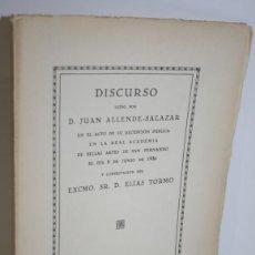 Libros: LOS GRANDES MAESTROS DE LA PINTURA ESPAÑOLA Y EL ARTE MODERNO - ALLENDE-SALAZAR, JUAN & TORMO, ELÍAS. Lote 269819798