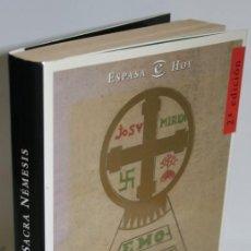Libros: SACRA NÉMESIS. NUEVAS HISTORIAS DE NACIONALISTAS VASCOS - JUARISTI, JON. Lote 269819838