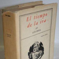 Libros: EL TIEMPO DE LA IRA - SPOTA, LUIS. Lote 269819853