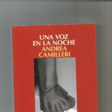 Livros em segunda mão: UNA VOZ EN LA NOCHE. - CAMILLERI, ANDREA:. Lote 269952978