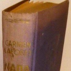 Libros: LAFORET, CARMEN. NADA. Lote 270120018