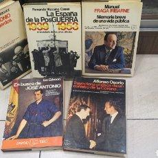 Libros: LOTE DE LIBROS DE HISTORIA EN ESPAÑA. Lote 270150778