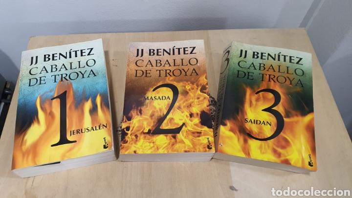 "COLECCION DE 3 LIBROS ""CABALLO DE TROYA"" (Libros sin clasificar)"