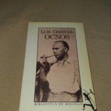 Libros: LUIS CERNUDA OCNOS , 1. Lote 270236538