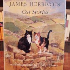 "Libros: JAMES HERRIOT: ""CAT'S STORIES"". Lote 270635078"