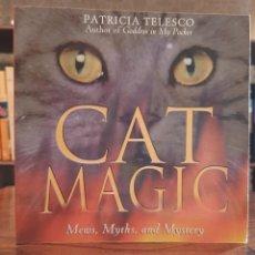 """Libros: PATRICIA TELESCO: """"CAT MAGIC"""". Lote 270635453"""