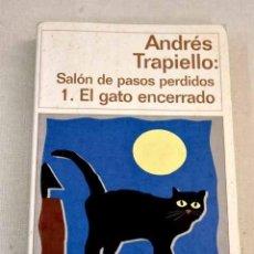 Libros: EL GATO ENCERRADO.- TRAPIELLO, ANDRÉS. Lote 270665738