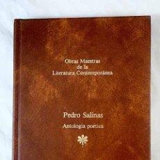 Libros: ANTOLOGÍA POÉTICA.- SALINAS, PEDRO. Lote 270666763