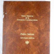 Libros: ANTOLOGÍA POÉTICA.- SALINAS, PEDRO. Lote 270671688