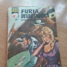 Libros: LIBRO FURIA DEVASTADORA ORLANDO GARR ASES DEL OESTE 306. Lote 270690583