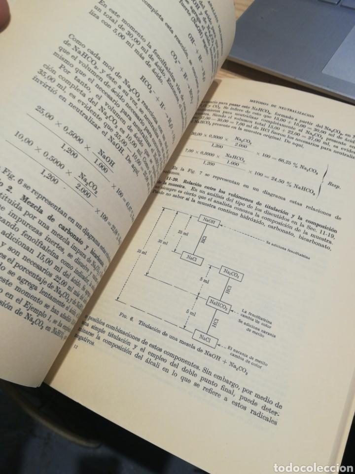 Libros: CALCULOS DE QUÍMICA ANALÍTICA. LEICESTER HAMILTON. STEPHEN SIMPSON - Foto 2 - 270926103