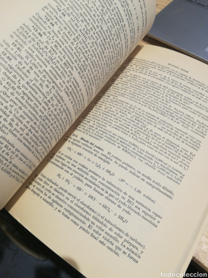 Libros: CALCULOS DE QUÍMICA ANALÍTICA. LEICESTER HAMILTON. STEPHEN SIMPSON - Foto 3 - 270926103
