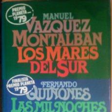 Libros: LOS MARES DEL SUR. Lote 270987728