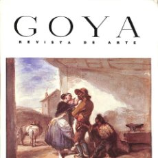 Libros: GOYA REVISTA DE ARTE, NÚM. 213, NOVIEMBRE-DICIEMBRE 1989 - AAVV. Lote 271022138