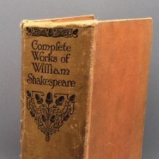 Libros: THE COMPLETE WORKS OF SHAKESPEARE - WILLIAM SHAKESPEARE. Lote 271045318