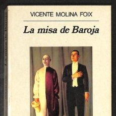 Libros: LA MISA DE BAROJA - VICENTE MOLINA FOIX. Lote 271055768