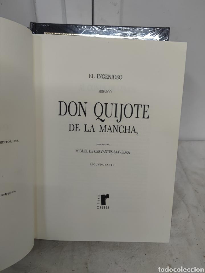 Libros: Don Quijote de la mancha Edt.Rueda 2007 - Foto 3 - 271068323