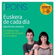 Libros: VASCO DE CADA DÍA + CD - ASIER IRIZAR JAVIER LORENTE. Lote 271395778