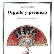 Libros: ORGULLO Y PREJUICIO. LETRAS UNIVERSALES CÁTEDRA. - JANE AUSTEN. TDK629. Lote 271530813