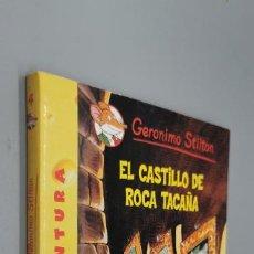 Libros: GERONIMO STILTON - GERONIMO STILTON 4: EL CASTILLO DE ROCA TACAÑA. Lote 271600853