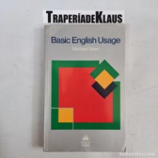 Libros: BÁSIC ENGLISH USAGE- MICHAEL SWAN - TDK61 -. Lote 271653273