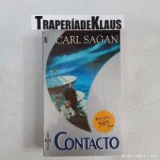 Libros: CONTACTO.- SAGAN, CARL - TDK61 -. Lote 271657278