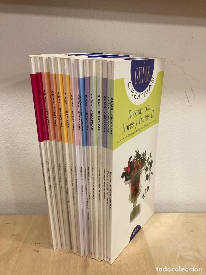 LOTE DE LIBROS GUÍAS CREATIVAS (Libros sin clasificar)