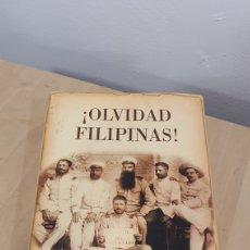 """Libros: LIBRO """"OLVIDAD FILIPINAS"""". Lote 271929628"""