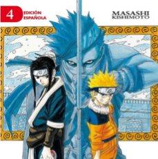 Libros: LIBRO NARUTO Nº 04/72 (MANGA SHONEN) TAPA BLANDA POR MASASHI KISHIMOTO. Lote 273498973