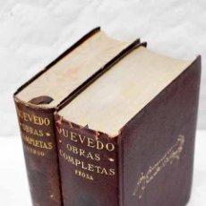 Livros em segunda mão: OBRAS COMPLETAS.- QUEVEDO Y VILLEGAS, FRANCISCO DE. Lote 274118438