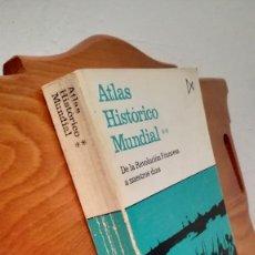 Libros: ATLAS HISTORICO MUNDIAL ** DE LA REVOLUCION FRANCESA A NUESTROS DIAS. Lote 274228788