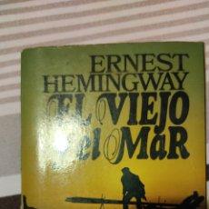 Libros: EL VIEJO Y EL MAR DE ERNEST HEMINGWAY. Lote 274646493