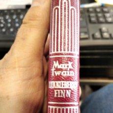 Livros em segunda mão: MARK TWAIN, HUCKLEBERRY FINN, CRISOL AGUILAR PIEL. Lote 275879838