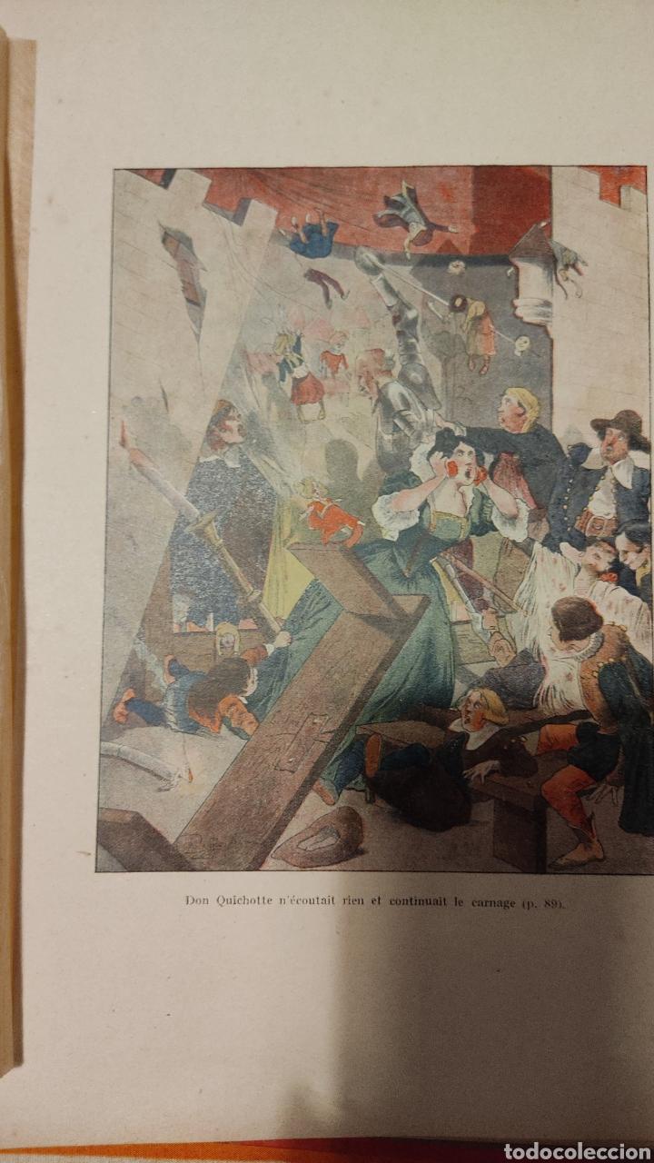 Libros: Don Quijote en francés - Foto 3 - 275889323