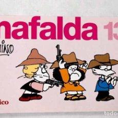 Libros: MAFALDA 13: TIRAS DE QUINO.- QUINO. Lote 276763698